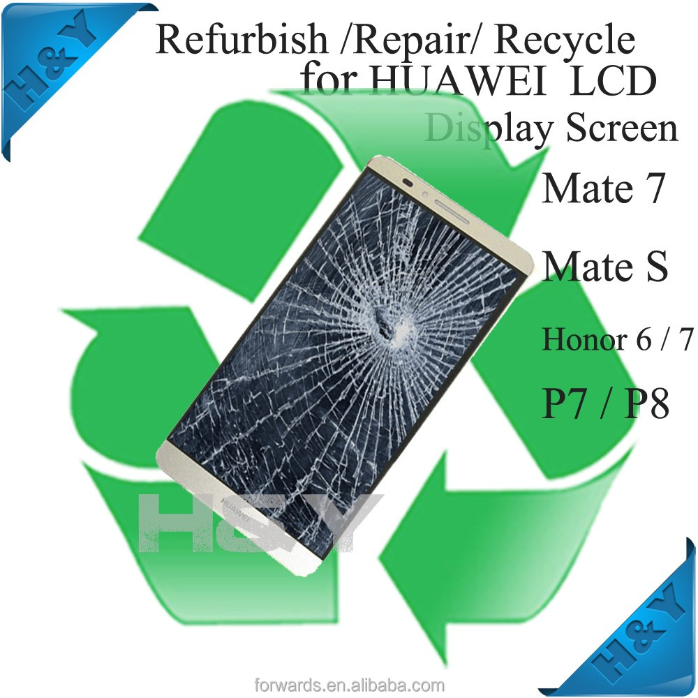 Mobile phone broken LCD screen recycle service For Samsung S6 Edge,Recycle cracked/damaged LCD for Samsung S6 Edge