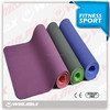 2014 NEW 100% TPE washable yoga mat with bag
