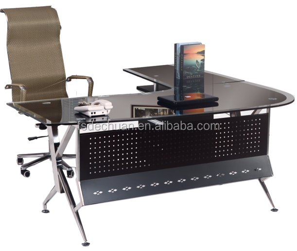 Hi Tech Desk melamine high tech executive office desk, melamine high tech