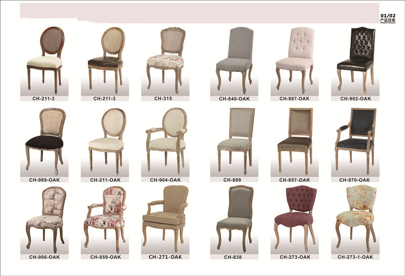 French bistro style wooden cross back chair dining chair for Types of furniture styles