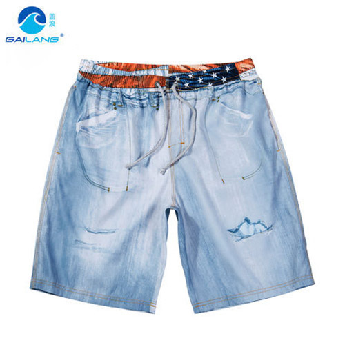 2015 Summer Sports Men's Beach Shorts Quick Dry Mens Board Shorts Brand Cargo Swimsuits Casual Mens Shorts Surfing Boardshorts