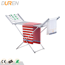 Electric heated clothes racks foldable electric clothes drying rack in aluminum material