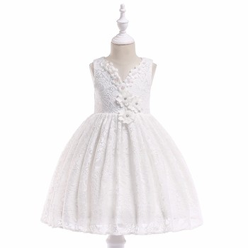 9a1feff65 Fashion Bulk Wholesale Import Kids Clothing Baby Clothes Baby Summer Flower  Lace Dress L5037