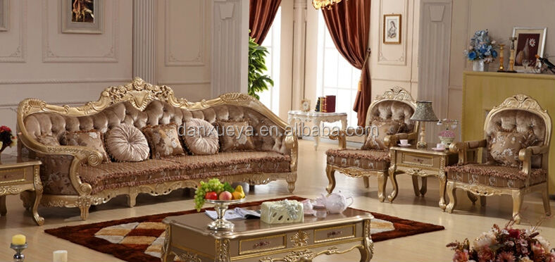 Danxueya Russian Style Furniture Ornate Bedroom High Quality Living Room