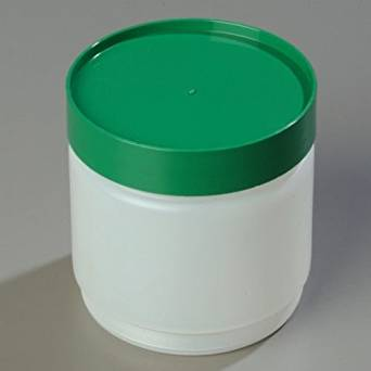 Carlisle Store 'n Pour 16 Oz. Green Backup Container