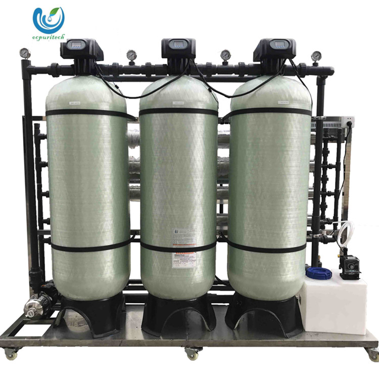 High Quality 2000L/h rain water purification systems domestic