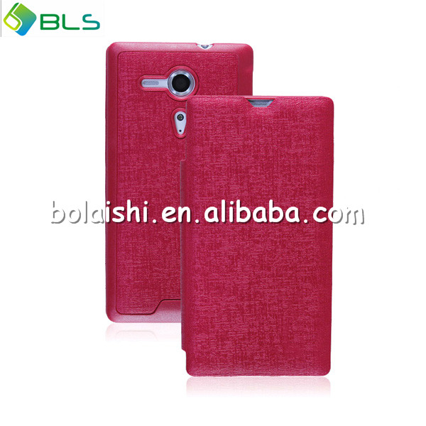 liquid phone case for sony xperia m5 flip cover leather phone case for sony xperia xa ultra