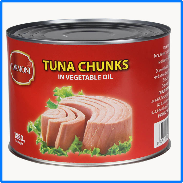 fresh frozen yellowfin tuna loin with fresh material