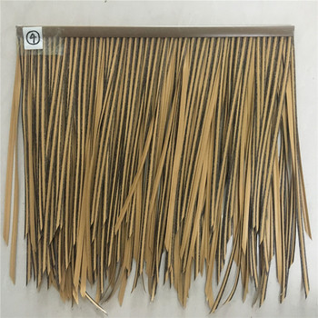 China Suppliers Waterproof Synthetic Artificial Thatch Roof For Sale