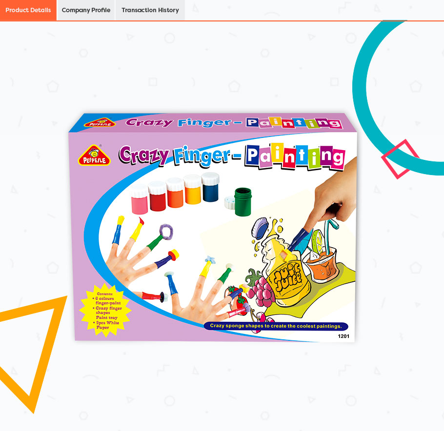 2019 good quality Finger Paint educational toys for kids