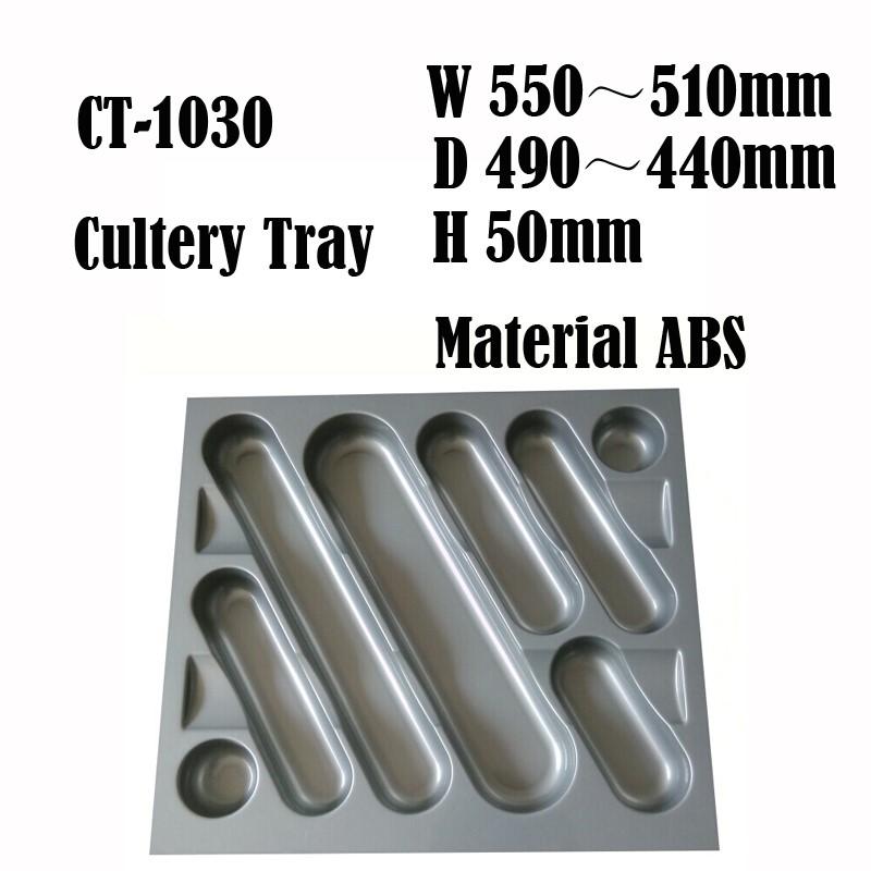 500mm Peralatan Dapur Tray Menarik Penyelenggara Separator