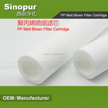 Industrial Water Treatment Pp Melt Blown Filter Cartridge