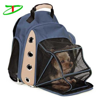 Mesh Multiple Deluxe Double Shoulders Straps Dog Carrying Bags Cat Backpack Carrier Bag