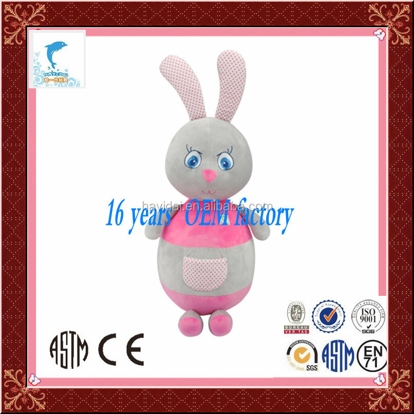 2015 babies designer animal custom baby rabbit plush toys wholesale