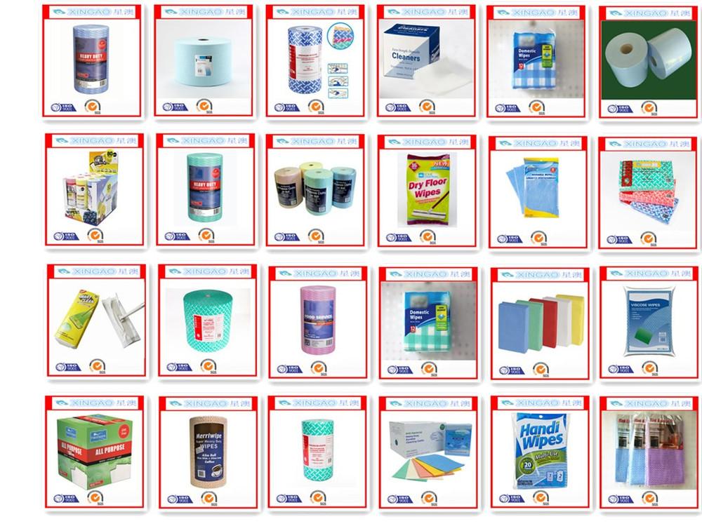 China Manufactuer Microfiber nonwoven 100  rayon viscose spunlace cleaning  cloth. China Manufactuer Microfiber Nonwoven 100  Rayon Viscose Spunlace