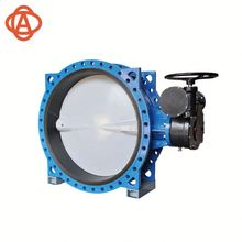 China Factory Direct Supply Dn40-Dn1200 Concentric Disc Flanged Butterfly Valve
