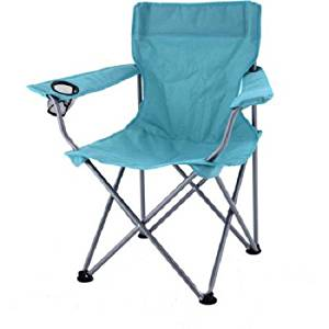 Ozark Trail Deluxe Folding Camping Arm Chair (Red)