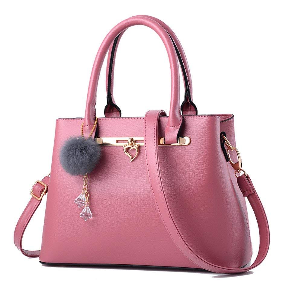 022fad76ac89 Get Quotations · Women Leather Tote Bag Medium Top Handle Satchel Handbag  Purse with Shoulder Strap