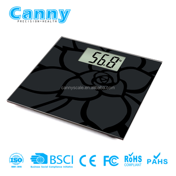 High Precision Personal Weighing Capacity 200kg Digital Body Weight Bathroom Scale
