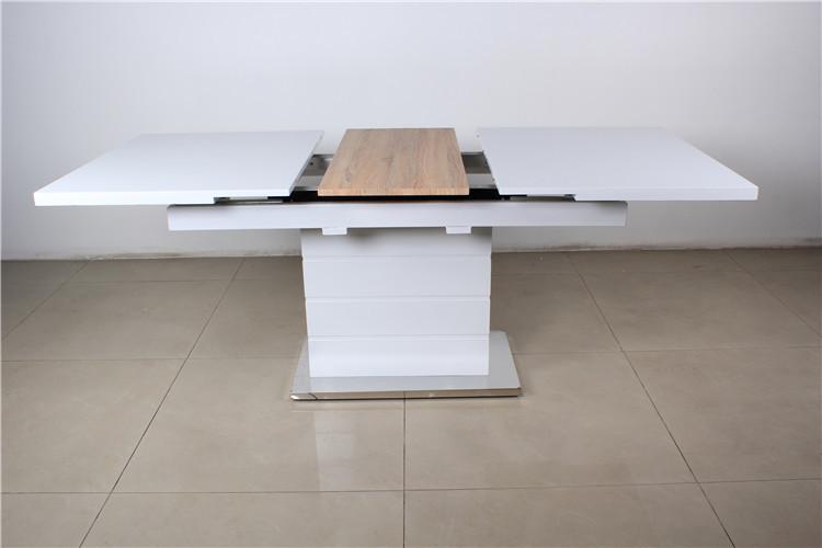 Diseño De Lujo Moderno 12 Plazas Mesa De Comedor De Madera ...