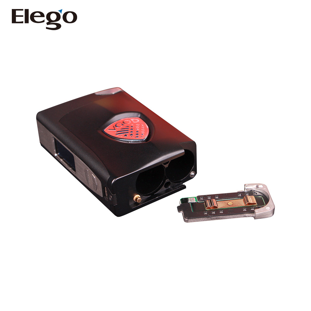 Elego Elite 200 Box Mod Release Edit Design VGOD Elite 200 Box Mod Temperature control mode in Stainless Steel
