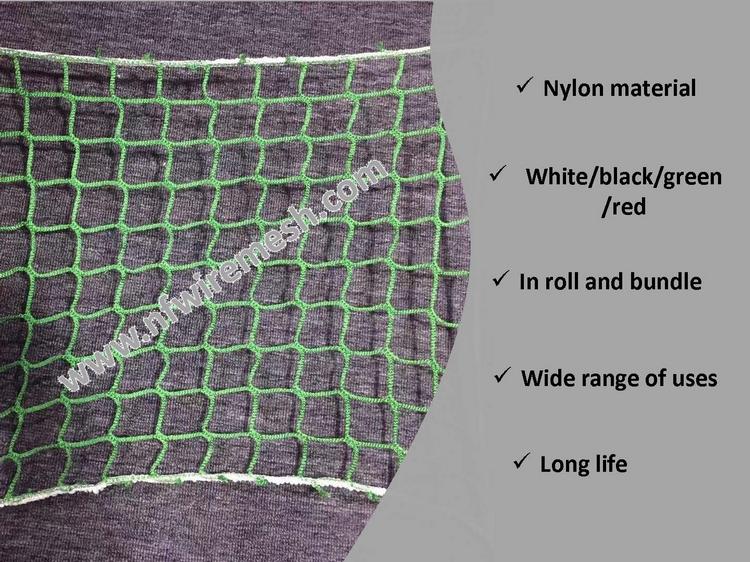 Grün nylon sicherheit net