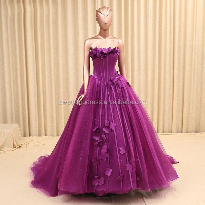 Платье вечернее органза