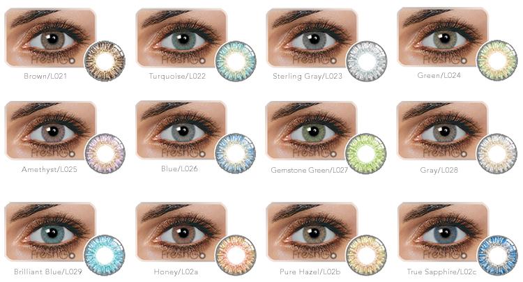 Colored Bifocal Contact Lenses