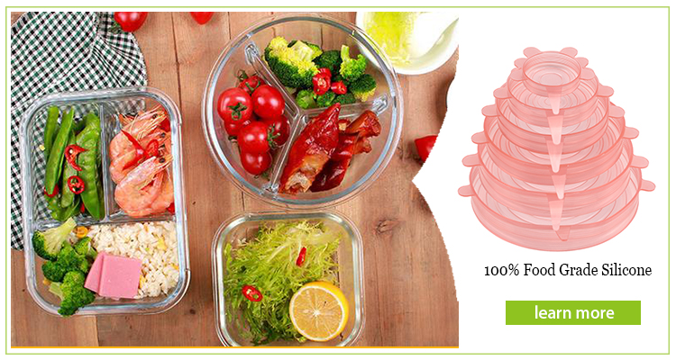 Amamzon Hot Food Safe Silicone Stretch Covers Buy Vegetable Fruit Cover Keeping Fresh Jar Cooking Glass Plate Seal Covers Kitchen Keep Food Fresh