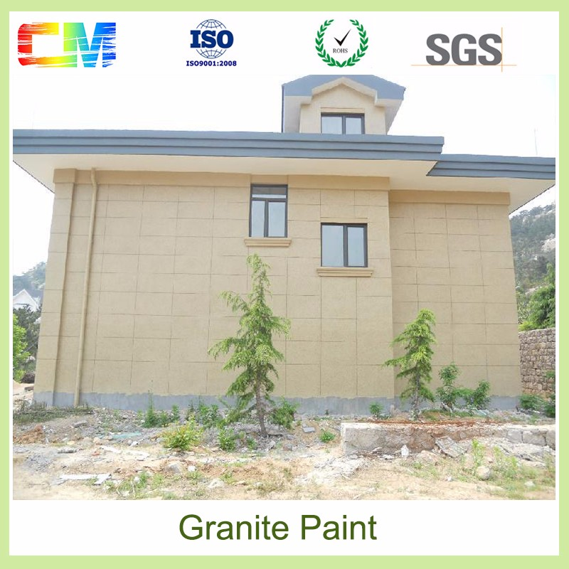 Hot sale good scrub stain resistance Granite exterior wall paint