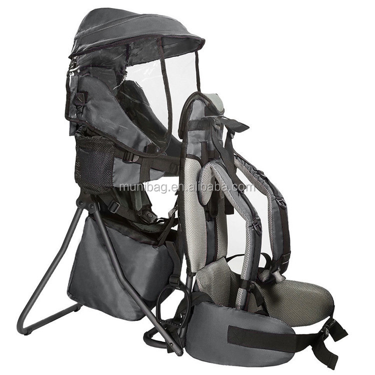 Baby Carrier Hiking Backpack With Ergonomic External Frame
