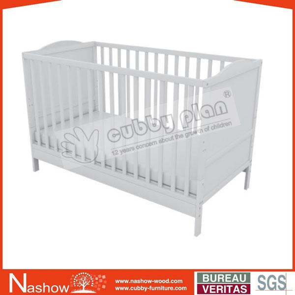 Venta al por mayor cunas de madera de pino para bebe-Compre online ...