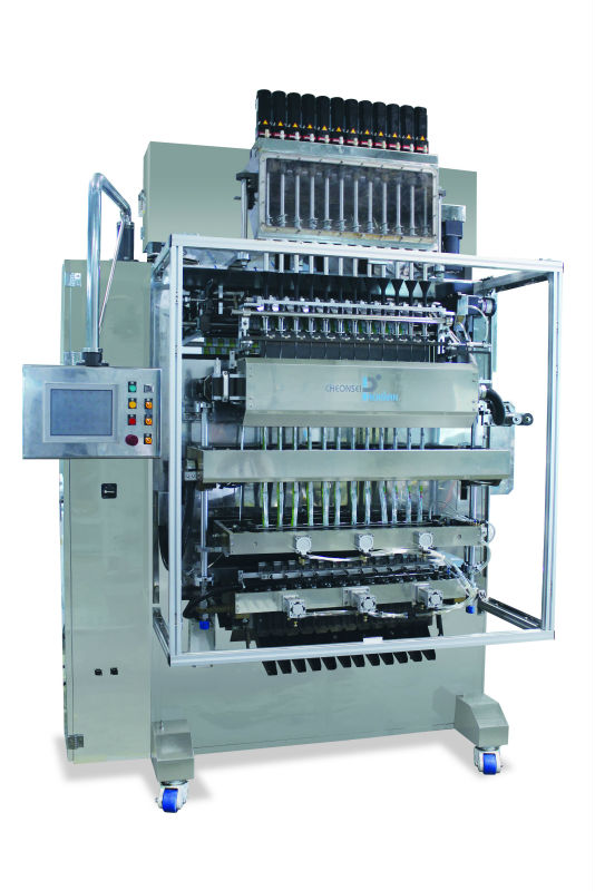 Stick Packer with Auger Filler for Standard Liquid and Powder Packaging