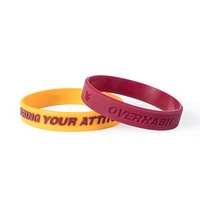 Colorful logo custom wrist band / rubber band / energy bracelet