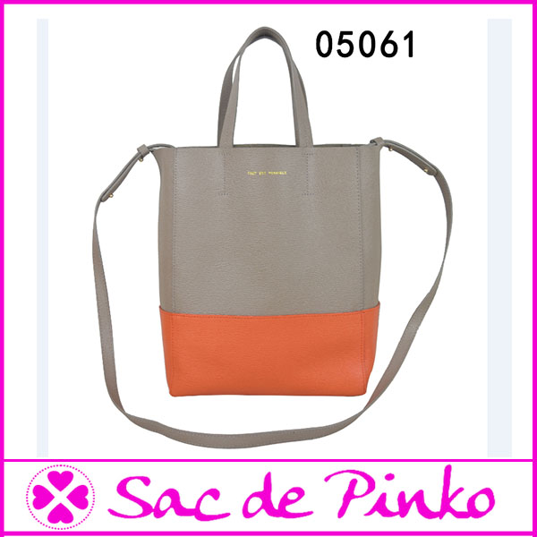 Wholesale occident trend simple style colorful waterproof long strap tote bag