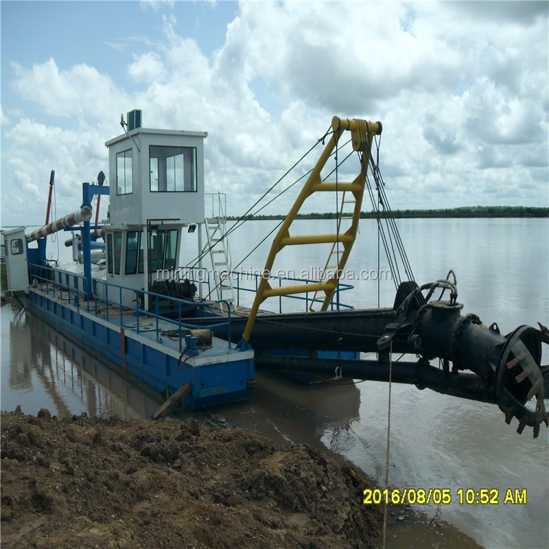 used cutter suction dredging machine