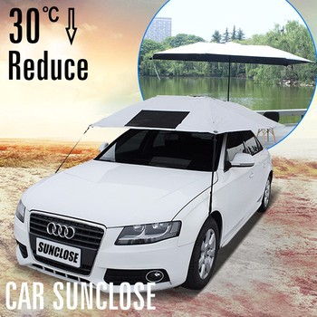 Sunclose Fabrika Sütun Araba Pencere Güneşlik Araba üst çadır