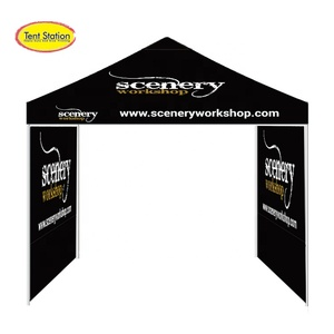 3x3m logo dye sublimation heavy duty type folding tent china, folding gazebo tent