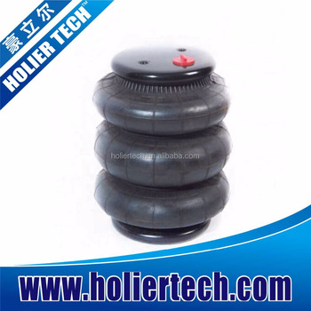 Rubber Air Suspension Spring 3 Convoluted
