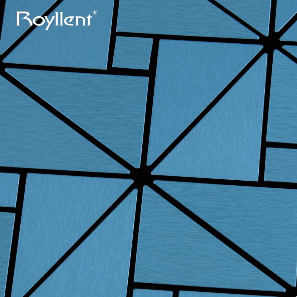 Mosaique Salle De Bain Bleu ~ moderne cuisine bleu brosse carrelage mosa que en verre pour salle
