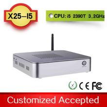 mini media player minipc thin computing x25-i5 3570T support wireless keyboard, mouse and touch screen