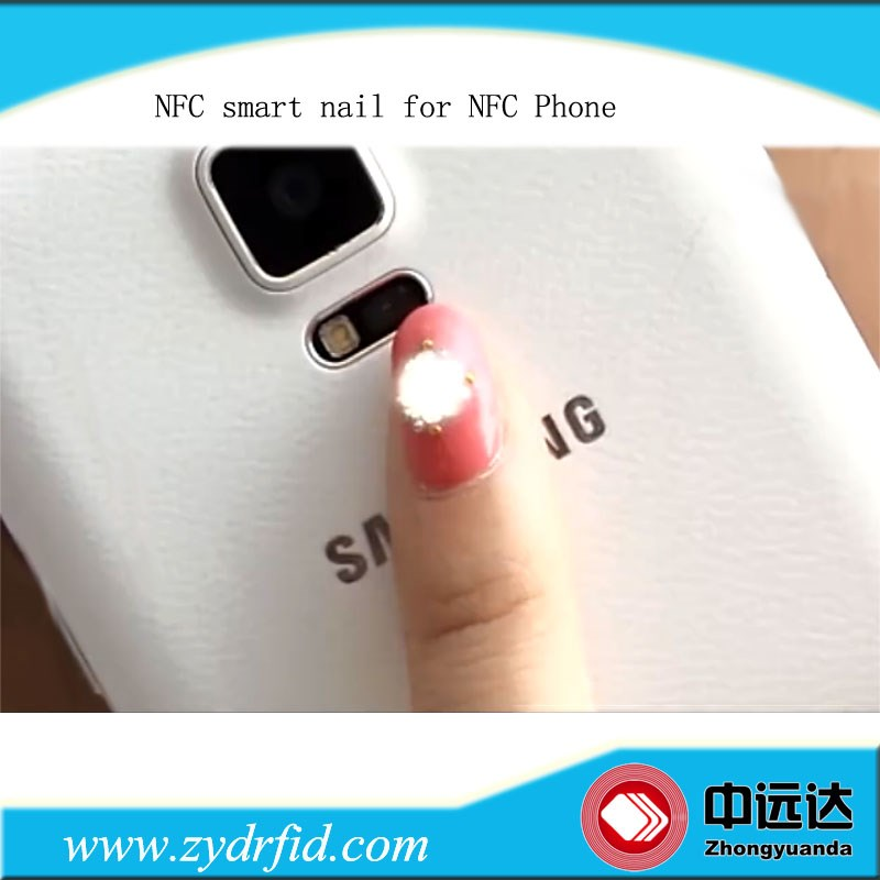 Flash Smart NFC nail sticker smart LED nail light stickers_Shenzhen ...