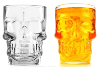 17ounces Party Drinking Vessel Skull Glassware Drink Cup Classic Beer Mug Party Bar