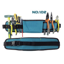 New design blue color waist electrician tool bag