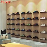 Low Price Shoes Shop Interior Design, Shoes Shop Display Design, Shoes Shop Decoration