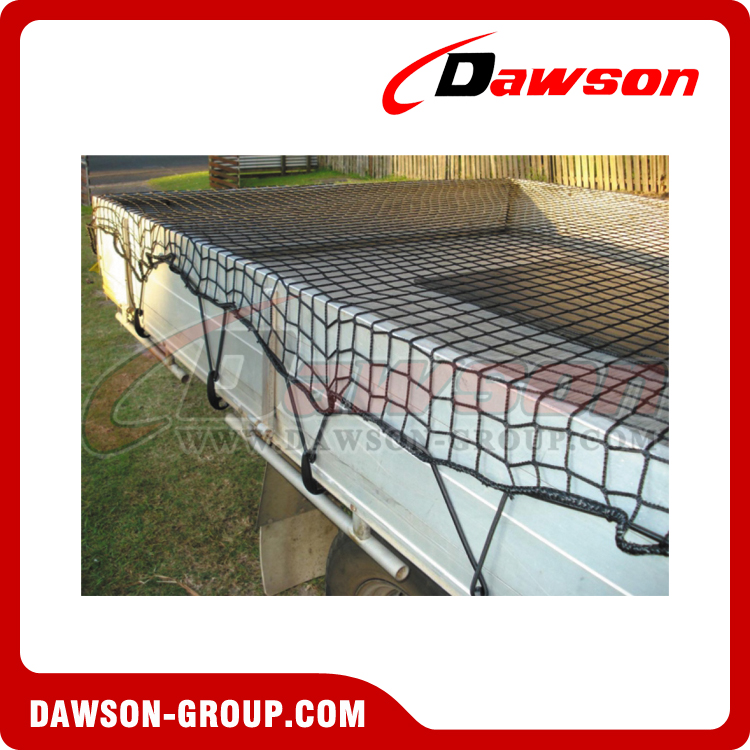 dawson Small 4.75' x 6', Heavy Duty Adjustable Safety Web Cargo Net