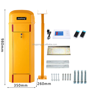 Automatic car barrier drop-arm barrier gate remote control packing barrier