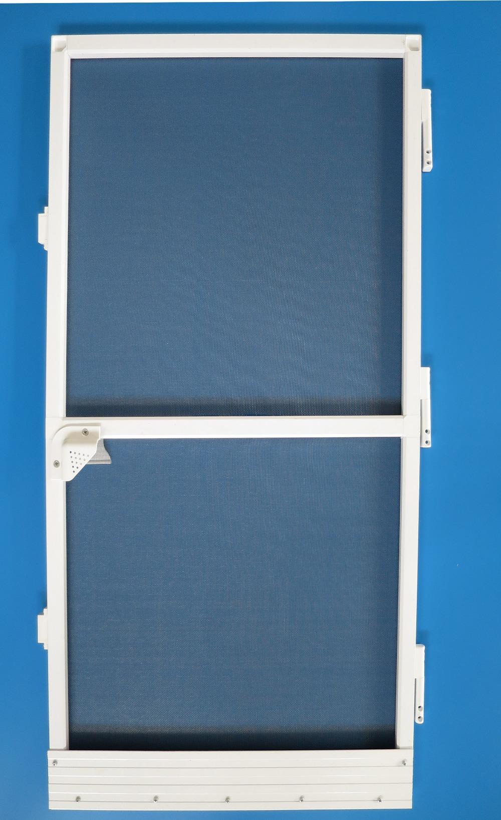 Trustworthy china supplier aluminum frame roller door with for Screen door frame