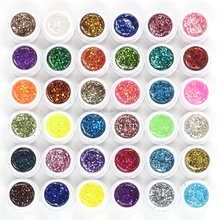 36 colorato professionale nail art vernice <span class=keywords><strong>gel</strong></span> <span class=keywords><strong>uv</strong></span> 1 kg