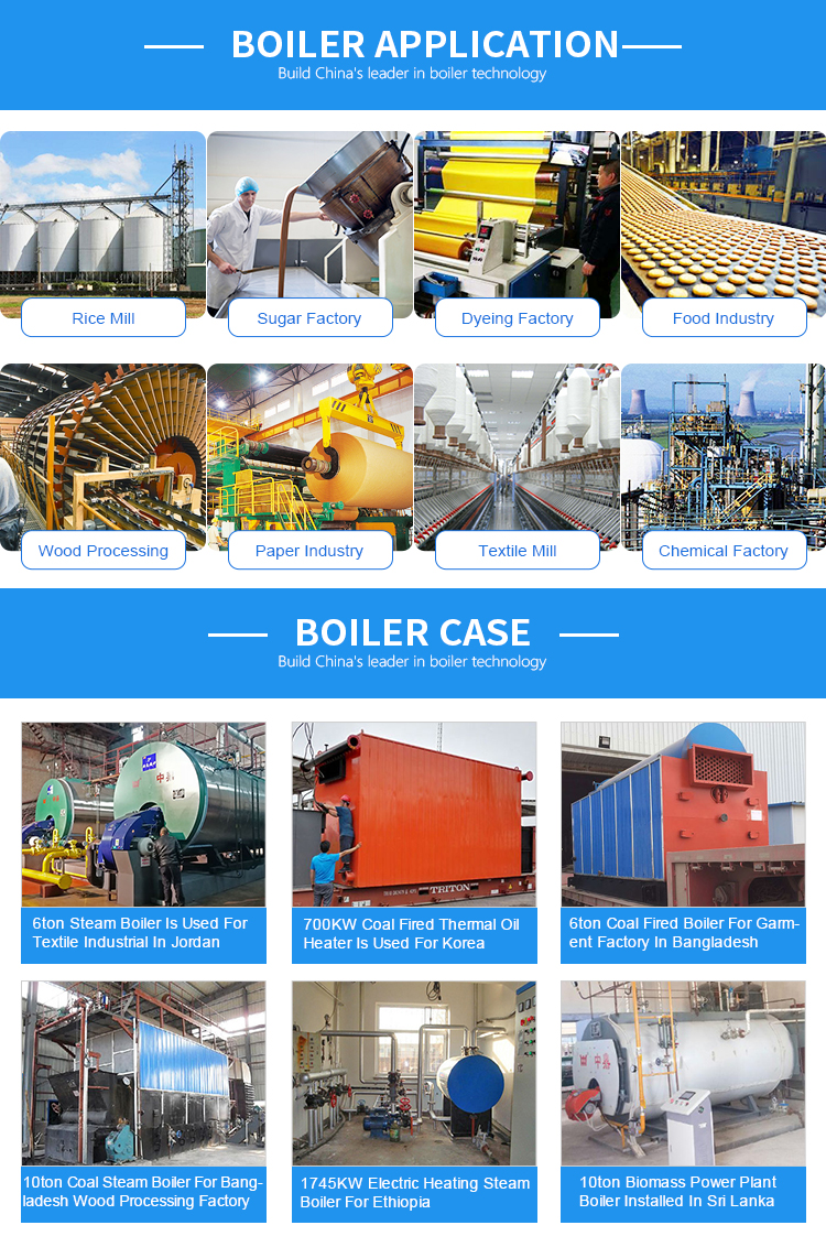 Wet Back Three Pass Structure Industrial Oil Gas Fired Steam Generator Boiler Price